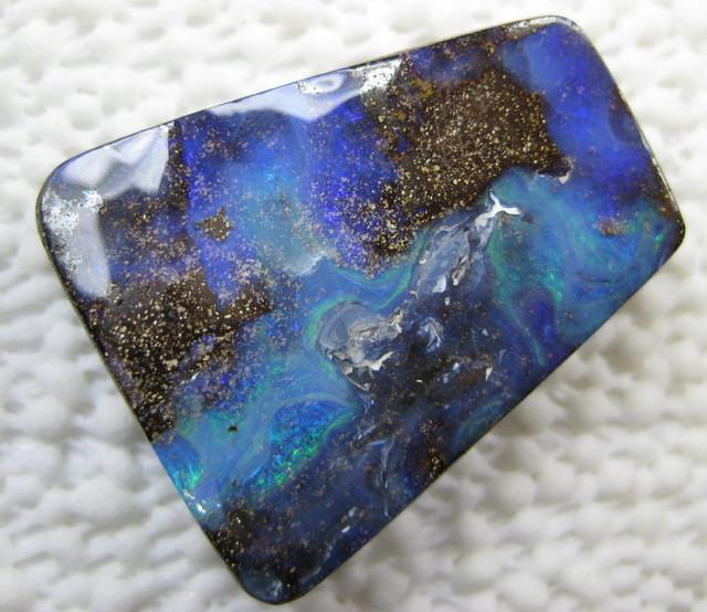 large impressive boulder opal.