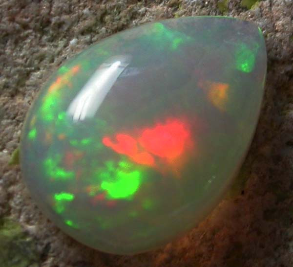 .90 CTS BRIGHT SATURATED WELO OPAL -ETHIOPIA  [VS5583  ]