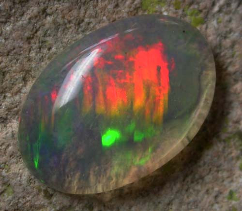 1.95 CTS BRIGHT SATURATED WELO OPAL -ETHIOPIA  [VS5573  ]