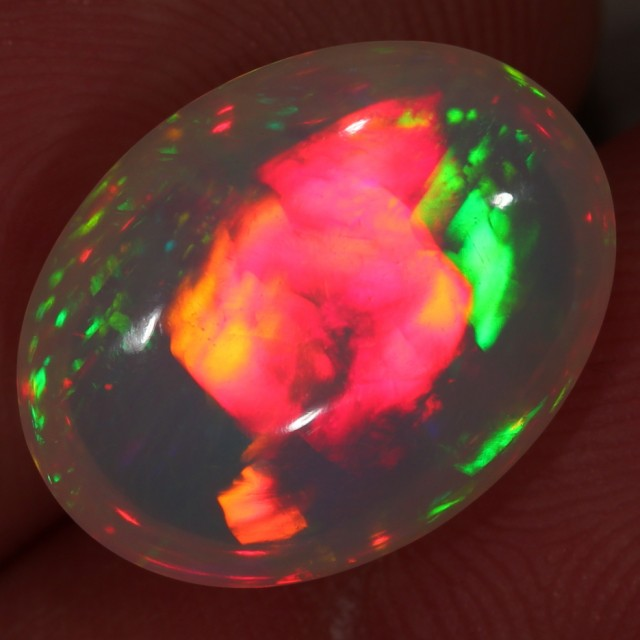 9.4ct. Stunning Shapes!!! Ethiopian Welo Fire Crystal Opal