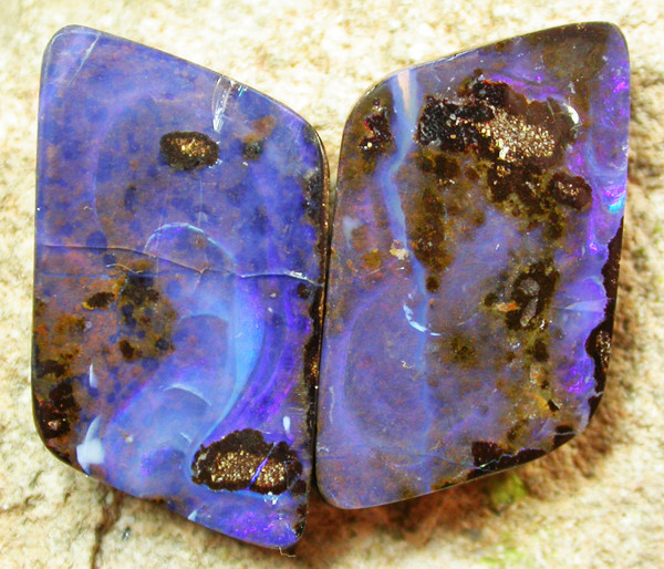 21.45 CTS BOULDER  OPAL FULL FACED STUNNING  [MS3923]