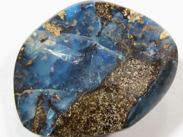 Drilled Boulder Opal from Genuine opal Miner in Australia.