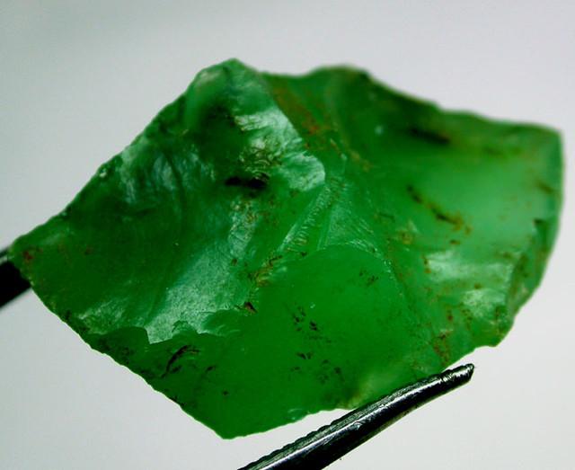 14.40 CTS A GRADE GREEN OPAL [PRASE OPAL] TANZANIA [VS5748 ]