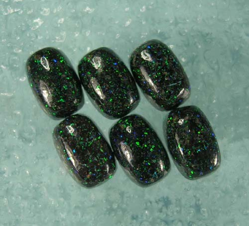 QUALITY FAIRY OPAL CABOCHONS CALIBRATED SIZE 8x6mm RECTANGLE