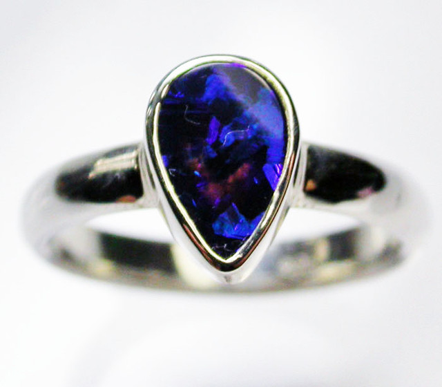 7.5 RING SIZE  SOLID OPAL  FACTORY DIRECT  [SOJ1593]