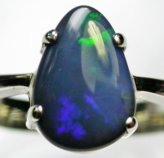 8.5 RING SIZE  SOLID OPAL  FACTORY DIRECT  [SOJ1621]SH