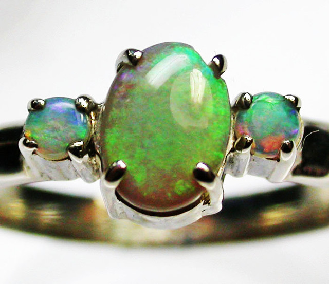9 RING SIZE  SOLID OPALS  FACTORY DIRECT  [SOJ1653]