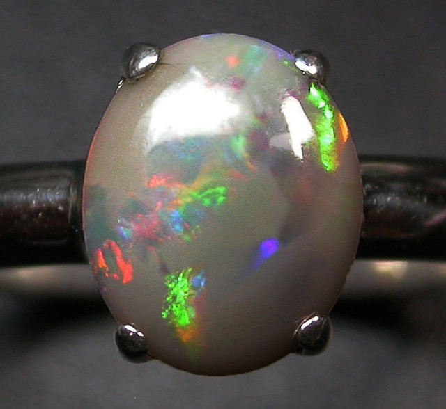 6.5 RING SIZE SOLID OPAL FACTORY DIRECT [SOJ1721]