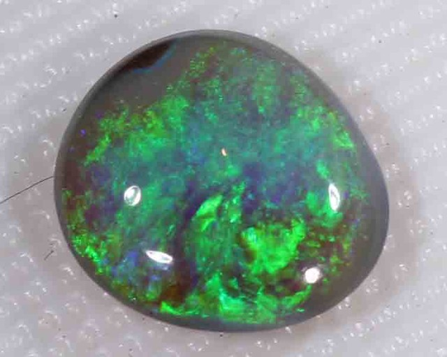 FREE SHIPPING  1.40 CTS BLACK OPAL FROM LR