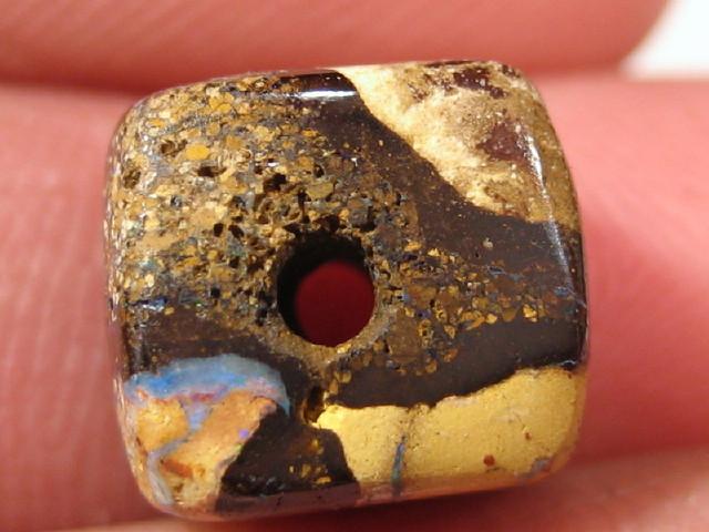 YowahOpal- 10.05Cts Boulder Matrix Opal -Square Beads