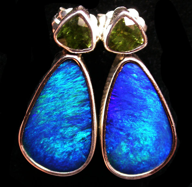 20 CTS DOUBLET EARRING WITH PERIDOT-DIRECT FACTORY [SOJ1843]
