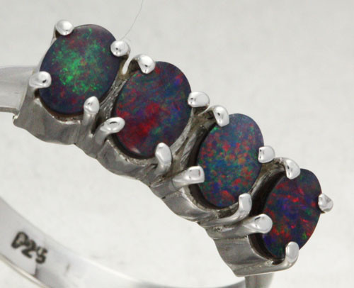 10 RING SIZE DOUBLET CLUSTER  RING -FACTORY DIRECT [SOJ1404]