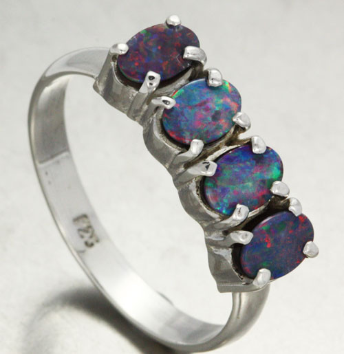 10 RING SIZE DOUBLET CLUSTER  RING -FACTORY DIRECT[SOJ11408]