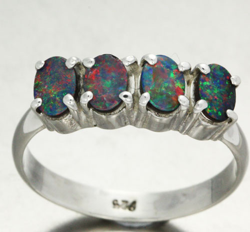 10 RING SIZE DOUBLET CLUSTER  RING -FACTORY DIRECT [SOJ1410]