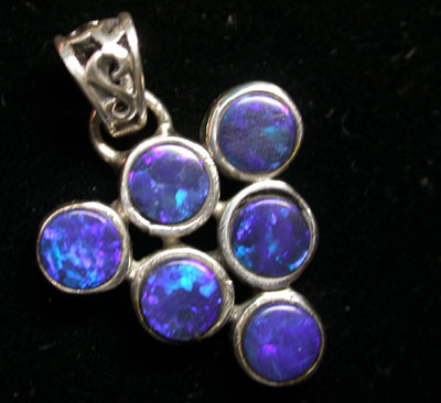 15 CTS DOUBLET PENDANT CLUSTER   [SOJ1450 ]