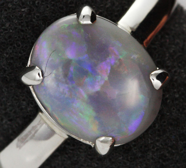 9 RING SIZE SOLID OPAL FACTORY DIRECT [SOJ1465 ]