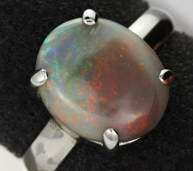 8 RING SIZE SOLID OPAL FACTORY DIRECT [SOJ1466 ]