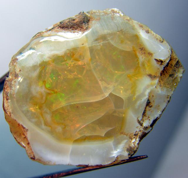 ETHIOPIAN-shewa opal nodule ROUGH  79 CTS  SAF-30