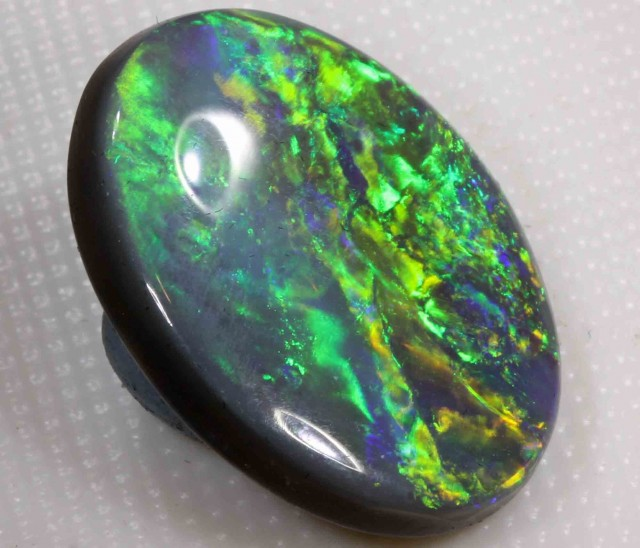5.80 ct BLACK OPAL FROM LR - 5.80 CTS - $399