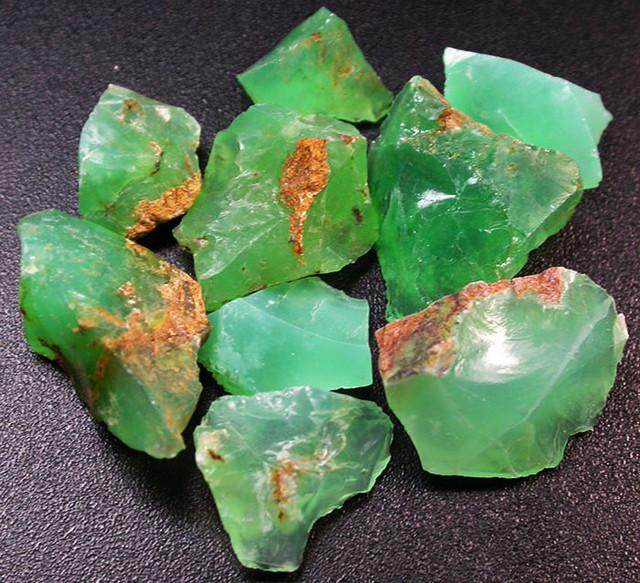 62.40 CTS A GRADE GREEN OPAL [PRASE OPAL] TANZANIA [VS5919]