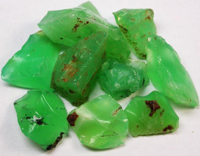 72.60 CTS A GRADE GREEN OPAL [PRASE OPAL] TANZANIA [VS5924]