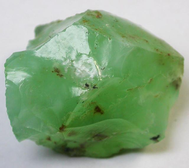 77.92 CTS A GRADE GREEN OPAL [PRASE OPAL] TANZANIA [VS5934]
