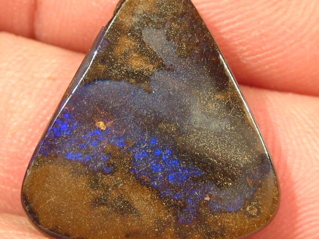 OpalWeb - Australian Boulder Opal Pendant  - 16.95Cts
