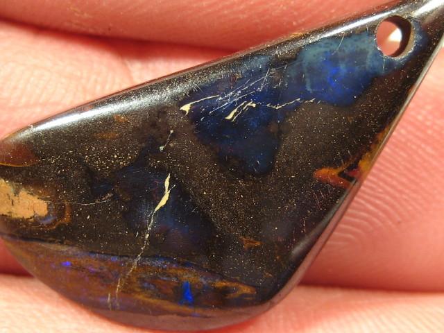OpalWeb - Australian Boulder Opal Pendant  - 19.70Cts