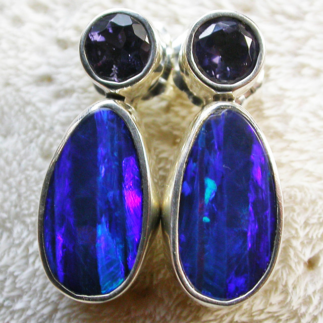 14 CTS DOUBLET WITH WATER SAPPHIRE[IOLITE] SOJ2189