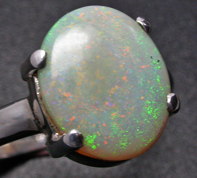 8.5 RING SIZE SOLID OPAL FACTORY DIRECT [SOJ2250]SH