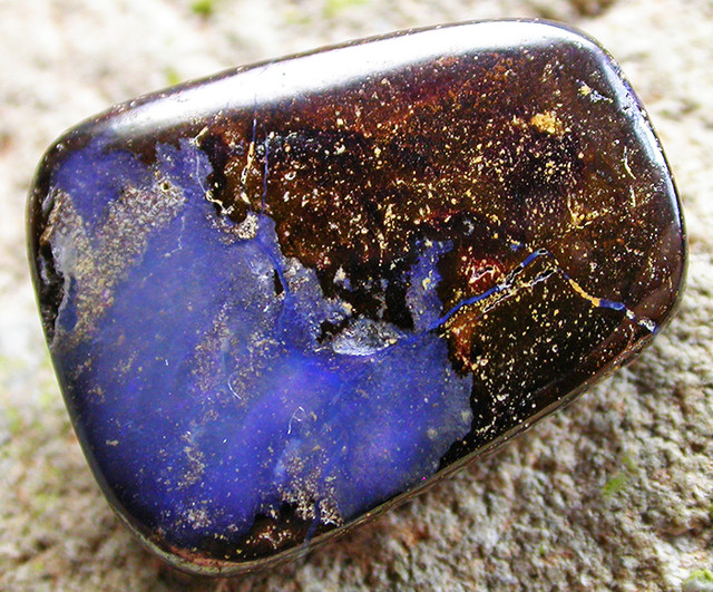 20.64 CTS BOULDER  OPAL -GLOSSY FINISH  [MS4740]