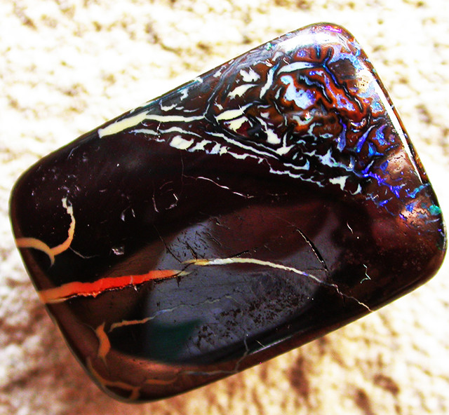 24.88 CTS BOULDER OPAL -WELL POLISHED  [BMA4033]