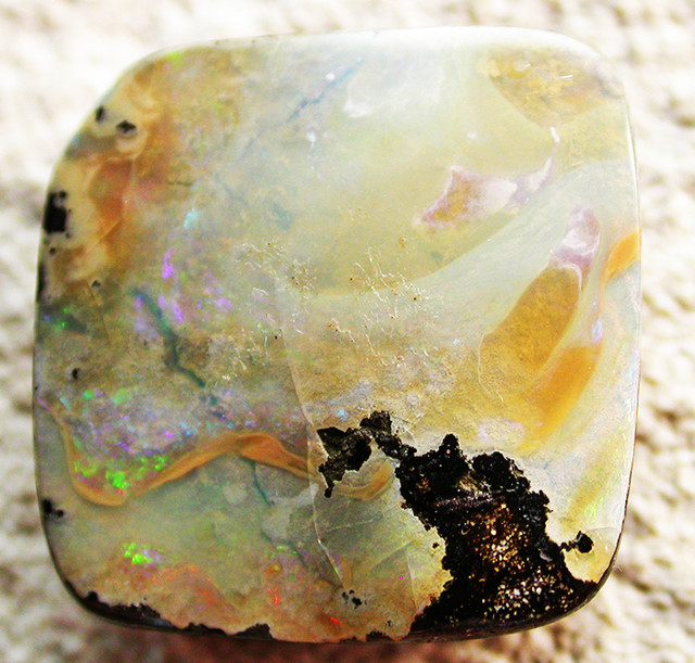 31.12 CTS BOULDER OPAL -WELL POLISHED  [BMA4045]