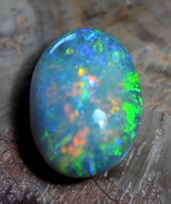 1.46 CTS BLACK OPAL CUT STONE L.RIDGE BK-66