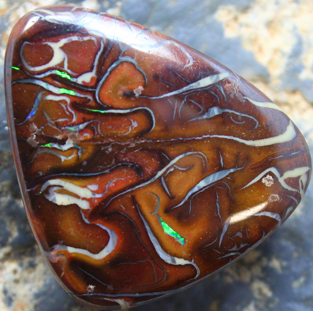 28.20 CTS YOWAH OPAL GORGEOUS NATURAL APPEALING STONE C39