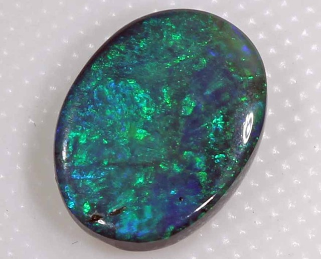 FREE SHIPPING  1.75 CTS TOP BLACK OPAL FROM LR