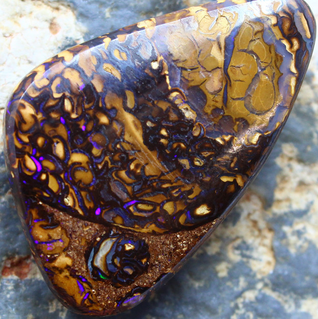 35.65 CTS YOWAH OPAL GORGEOUS NATURAL APPEALING STONE C206