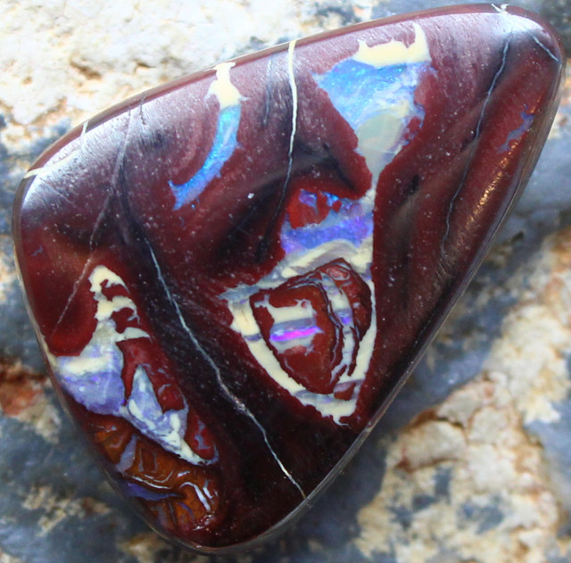 24.05 CTS YOWAH OPAL GORGEOUS NATURAL APPEALING STONE C208