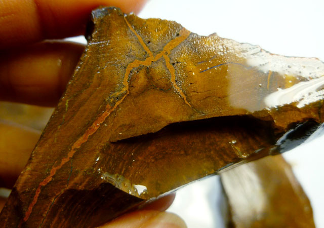 0.310 KILO   BOULDER OPAL SLICED ROUGH   PL 265