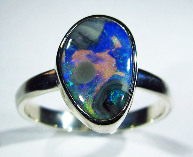 9.5 RING SIZE SOLID OPAL FACTORY DIRECT [SOJ2762]