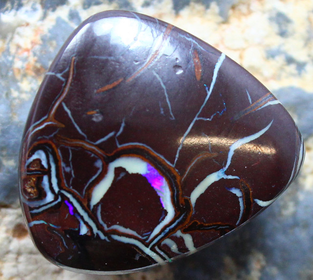 23.40 CTS YOWAH OPAL GORGEOUS NATURAL APPEALING STONE C695