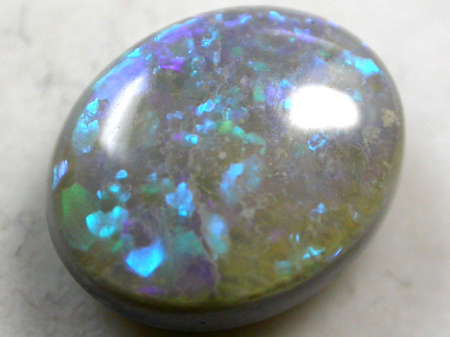 2 CTS  GREEN FIRE OPAL   PL399