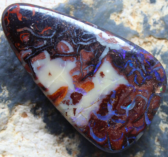 35.65 CTS YOWAH OPAL GORGEOUS NATURAL APPEALING STONE C714