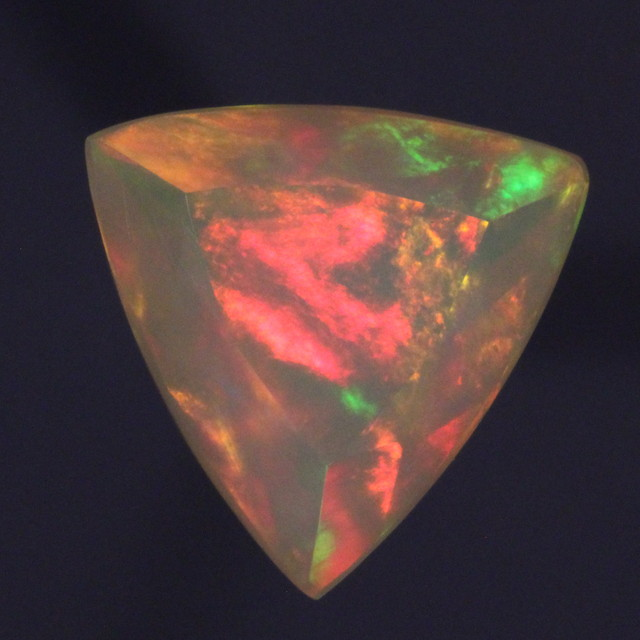 3.58ct. The BEST Faceted Trillion I Have Seen in a Long Time