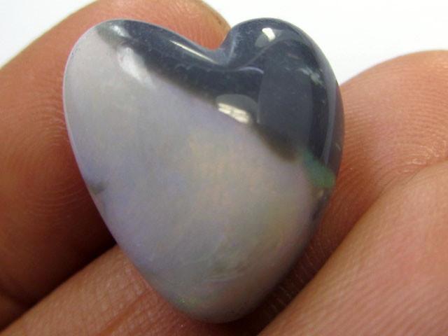 9.8 CTS HEARTS SHAPE OPAL IN POTCH    PL412