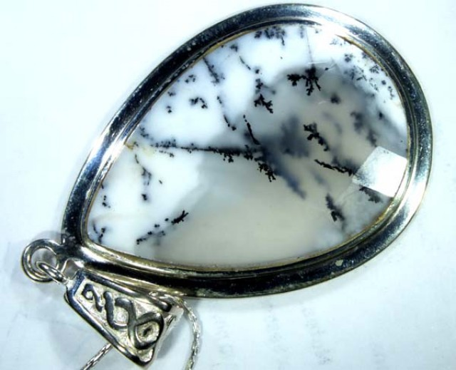 42 CTS  DENDRITIC OPAL  PENDANT  OF-862