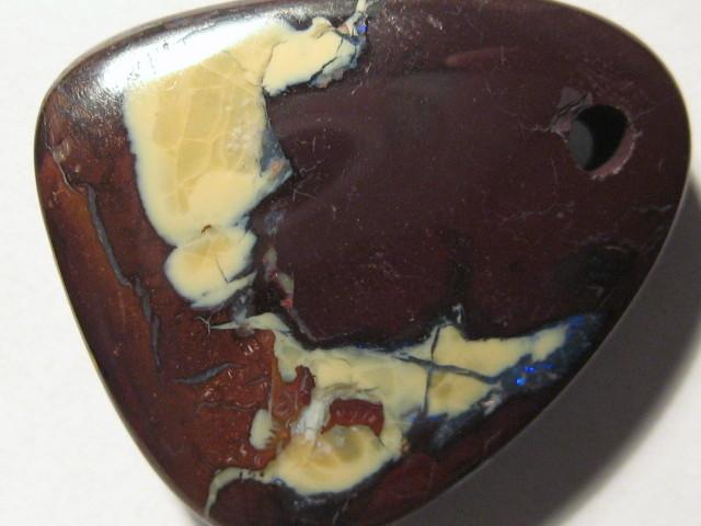 YowahOpals*51.35Cts-Drilled Natural Boulder Opal