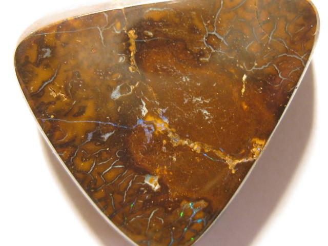 YowahOpals*41.00Cts-Drilled Natural Boulder Opal