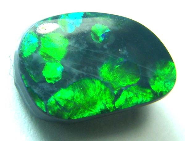 2.35 CTS QUALITY BLACK OPAL L RIDGE GEM  INV-735