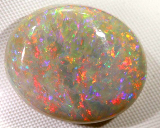 Quality Fiery White Opal 19 60 Cts Y 15